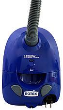 Пилосос Rotex RVB01-P/ Blue/ 1500Вт, фото 3