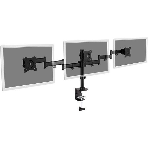 Кронштейн настільний для  3 моніторів Digitus da-90362