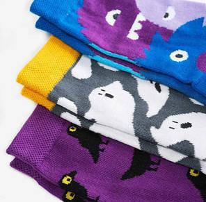 Шкарпетки дитячі Dodo Socks Babaiko 7-10 років, набір 3 пари, фото 2