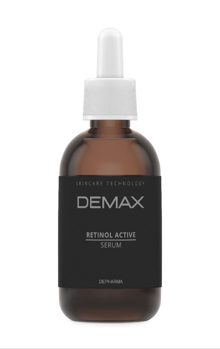 Сыворотка для кожи вокруг глаз с ретинолом Demax Retinol active serum 50ml арт.257-1