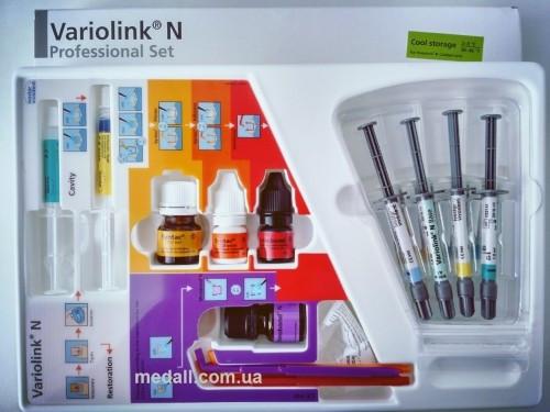 Variolink N Professional Set Набор для адгезивной фиксации, Ivoclar Vivadent.