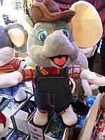 Поющая и танцующая мягкая игрушка 1213 Мышка в шляпе
