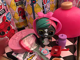 Кукла LOL Surprise Fuzzy PETS / Лол Питомец с кинетическим песком / аналог