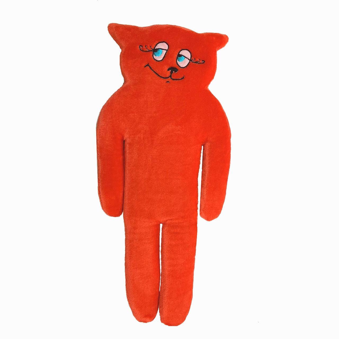 Игрушка-подушка, Кот, средний, красный