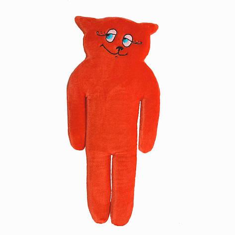 Игрушка-подушка, Кот, средний, красный, фото 2