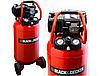 Компрессор безмасляный BLACK & DECKER 50L NKDV404BND012, фото 5