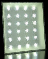 Административный встроенный светодиодный светильник LED (СИД), аналог люминисцентный ЛВО 4х18