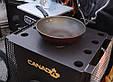 Печь Булерьян Canada с варочной поверхностью «03» со стеклом, фото 4