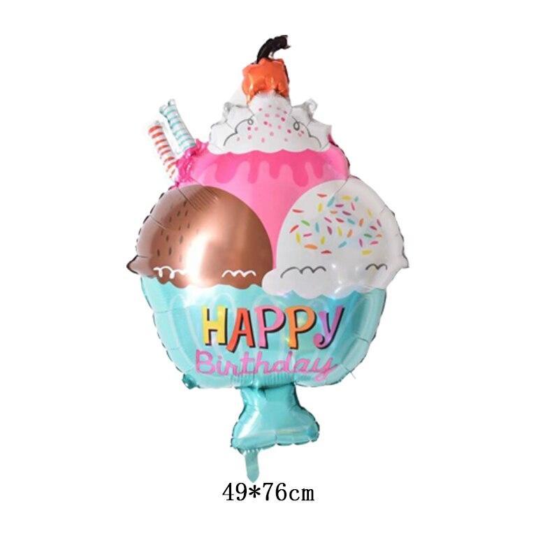 Фольгированный шар Мороженое Китай, 72*49 см 1535