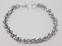 Срібний браслет (Фантазійне). Артикул 58190 22, фото 1