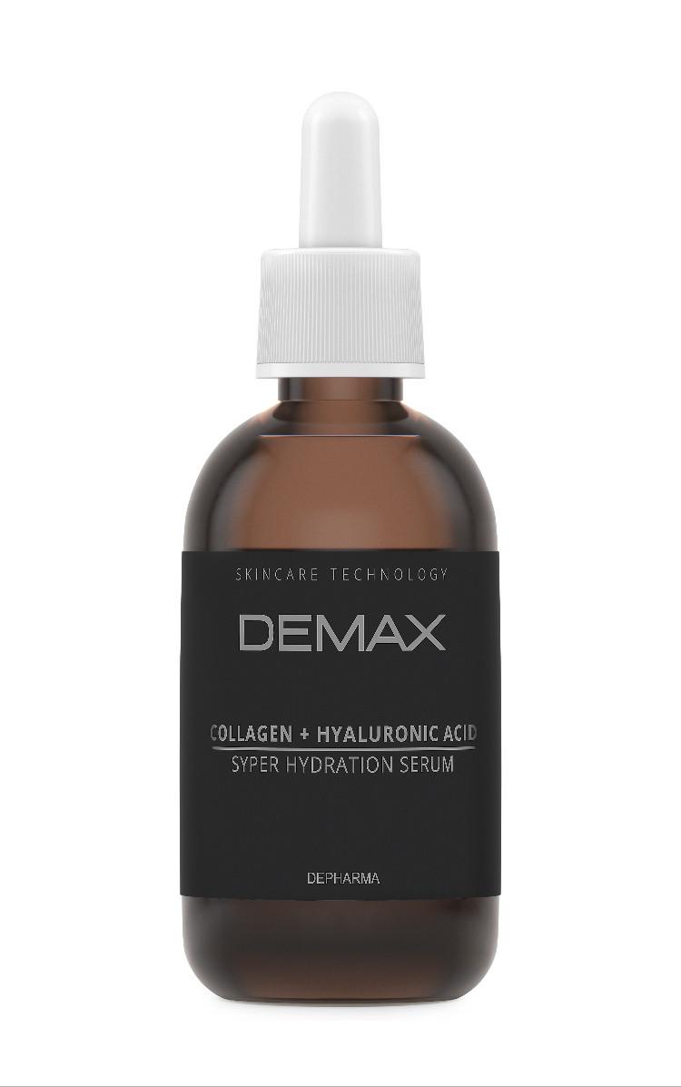 Сыворотка для кожи вокруг глаз Коллаген Demax Сollagen+hyaluronic acid 50ml арт.237-1