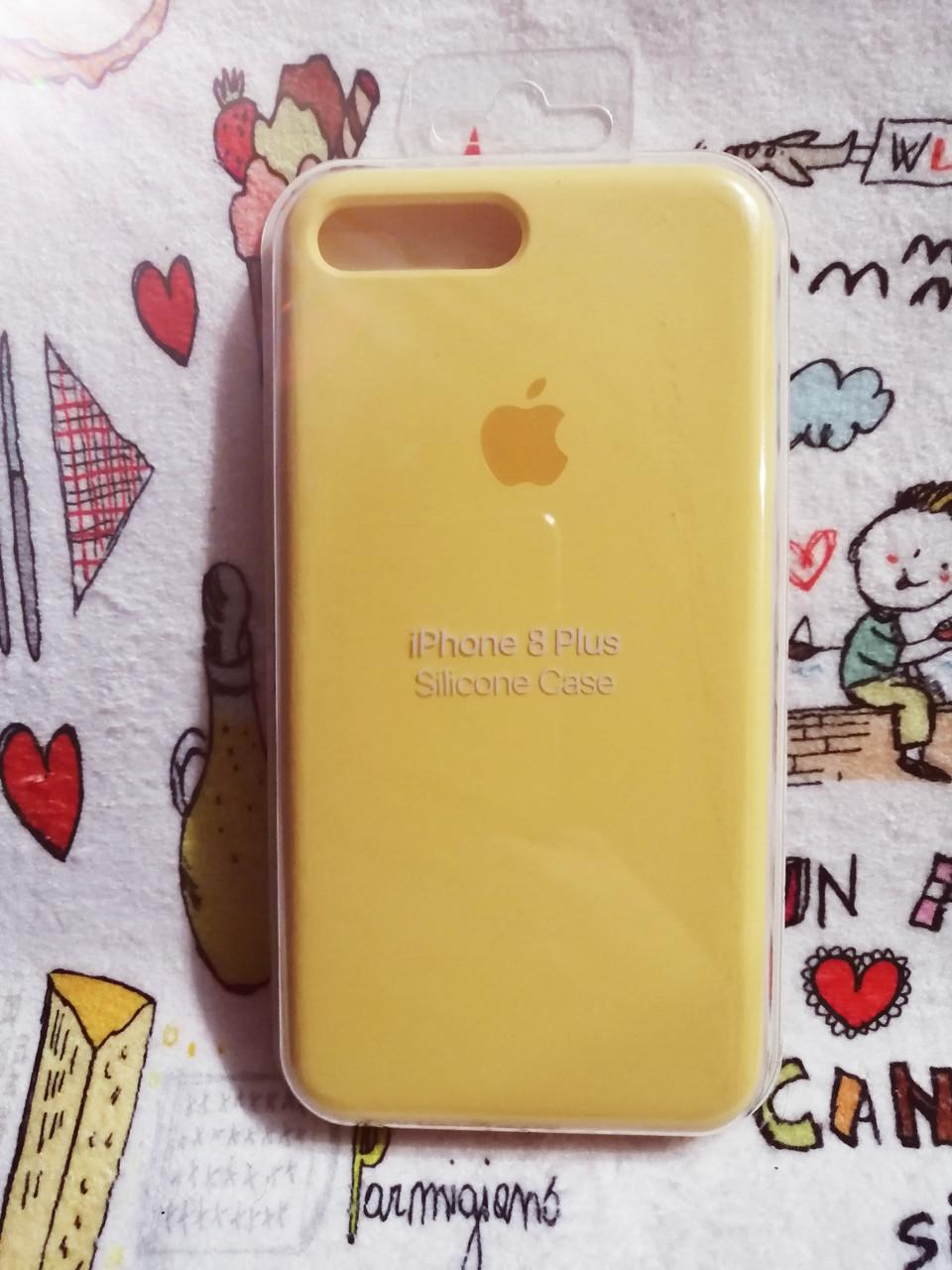 Силиконовый чехол для Айфон 7 Plus / 8 Plus  Silicon Case Iphone 7+ / 8+ в защищенном боксе - Color 4