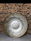 Тарілка декор настінна металева золота XXL, фото 3