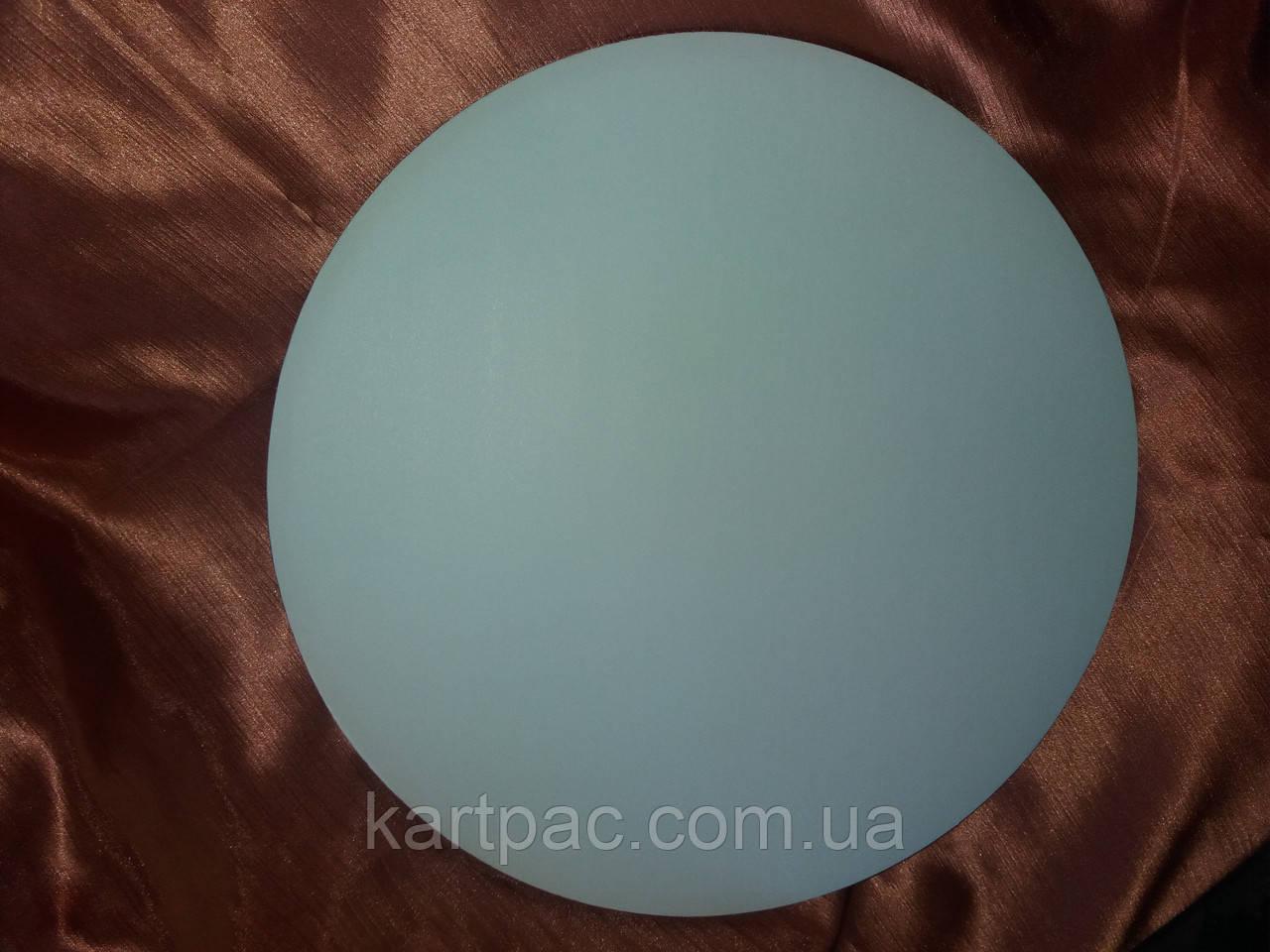 Підкладка ущільнена для торта діаметр 400 мм