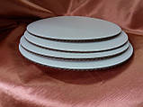 Підкладка ущільнена для торта діаметр 400 мм, фото 2