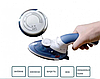 Паровой утюг-щетка Ручной отпариватель Steam Brush паровая щетка утюг Паровой утюг для вертикальной глажки, фото 2