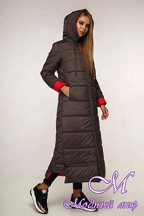 Зимнее женское пальто (р. 44-58) арт. 12-02/71-76, фото 2