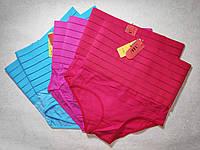 Жіночі стягуючі післяпологові труси на стегна 104 - 112 Малинові, фото 1