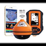 Эхолот ПРАКТИК 7 BWF Универсал (Wi-Fi) Маяк+Блок+Проводной датчик  для зимней рыбалки, фото 3