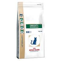 Сухой корм Royal Canin Obesity Management для взрослых кошек с избыточным весом, 400 г