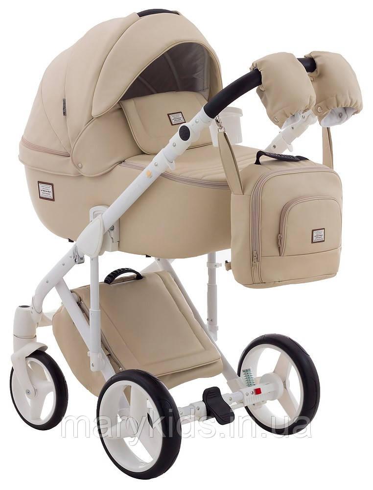 Детская универсальная коляска 2 в 1 Adamex Luciano Q-11S-B