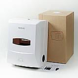 Диспенсер бумажных полотенец полуавтоматический Rixo Grande P588W, фото 4