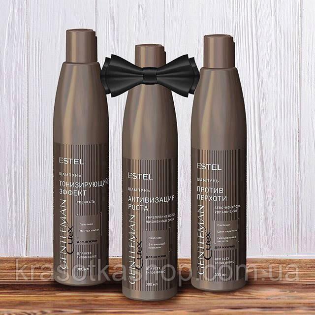 Шампунь активизирующий рост волос CUREX Gentleman, 300мл