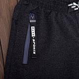 Чоловічі трикотажні шорти PUMA темно-сірого кольору, фото 2