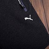 Чоловічі трикотажні шорти PUMA темно-сірого кольору, фото 3