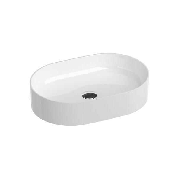 Умывальник накладной Ravak Ceramic SLIM O 550x370x120 керамический