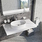 Умывальник накладной Ravak Ceramic SLIM O 550x370x120 керамический, фото 3