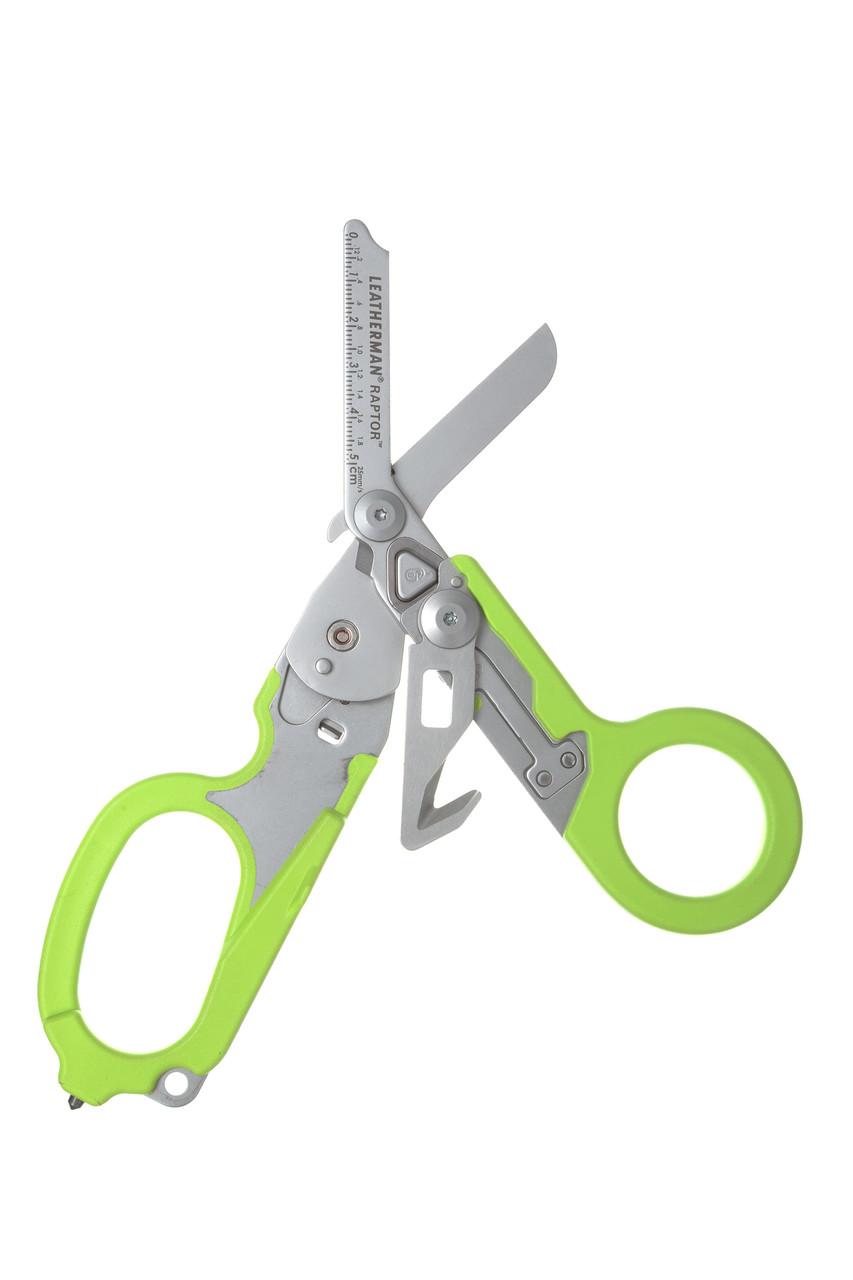 Ножницы LEATHERMAN Raptor, зеленый