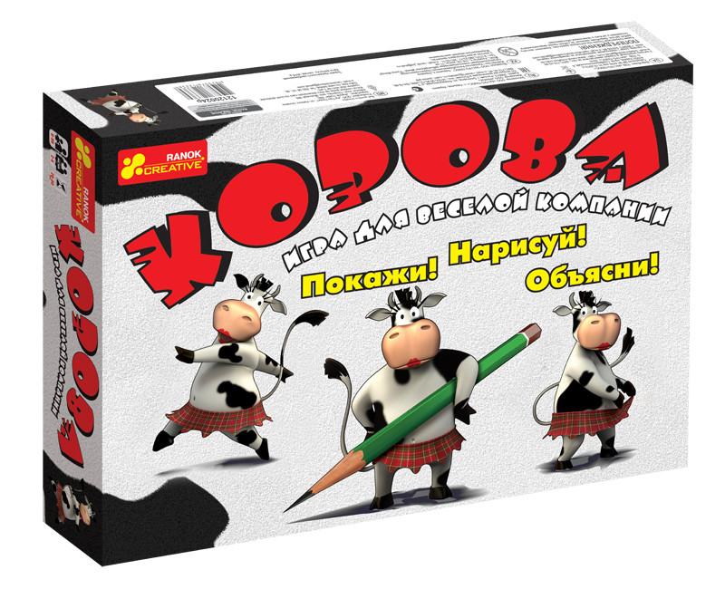 Настольная игра «Корова» для взрослых (12120024Р)