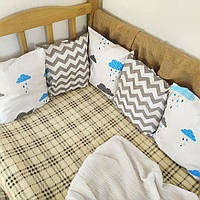 Бортики в детскую кровать на 3 стороны | Бортики в дитяче ліжко на 3 сторони 3 стороны
