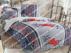 Махровое постельное белье Евро размер 200х220, фото 2