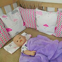 Защитные бортики в детскую кровать на 3 стороны | Бортики в дитяче ліжко на 3 сторони 3 стороны