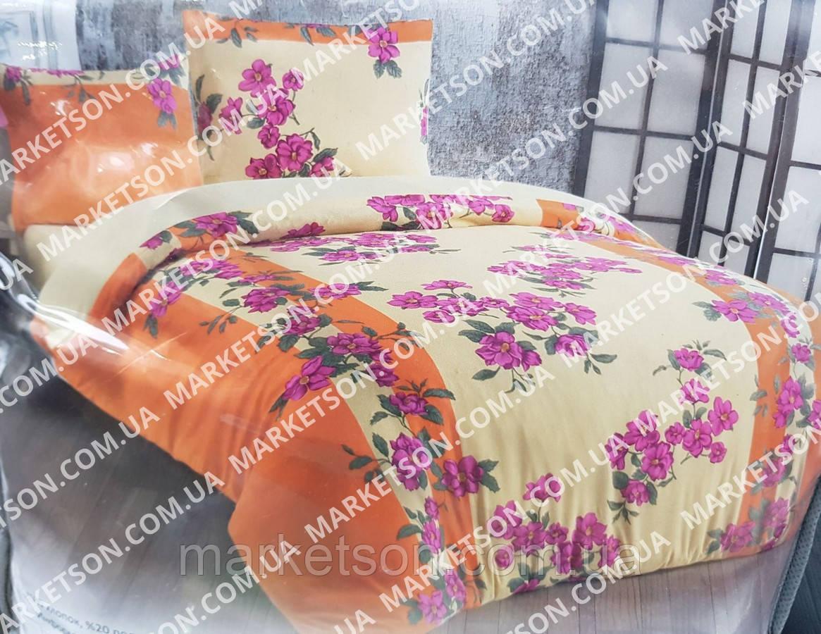 Махровое постельное белье Евро размер 200х220