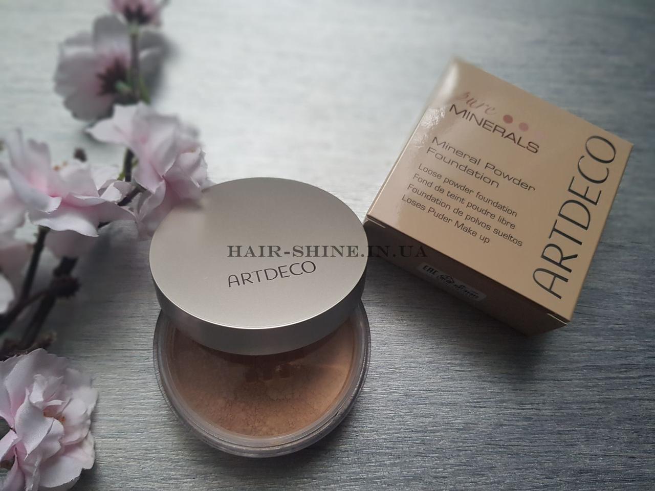 Мінеральна пудра Artdeco Mineral Powder Foundation 6 Honey 15 гр