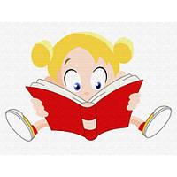 """Картина по номерам """"Девочка с книгой"""" MEX6357"""
