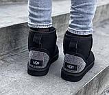 Угги женские UGG CLASSIC SHORT PA20 черные, фото 5