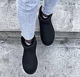 Угги женские UGG CLASSIC SHORT PA20 черные, фото 3