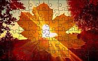 Магнитный пазл - Осенняя романтика А4