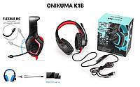 ONIKUMA K1B компьютерные игровые наушники B с микрофоном и светодиодной подсветкой лучше Kotion G2000