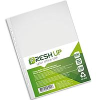 Файл А4+ глянцевый 30 мкм 100 шт FR-2030 Fresh