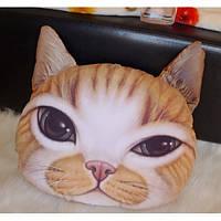 3D подушка Кот Рыжик