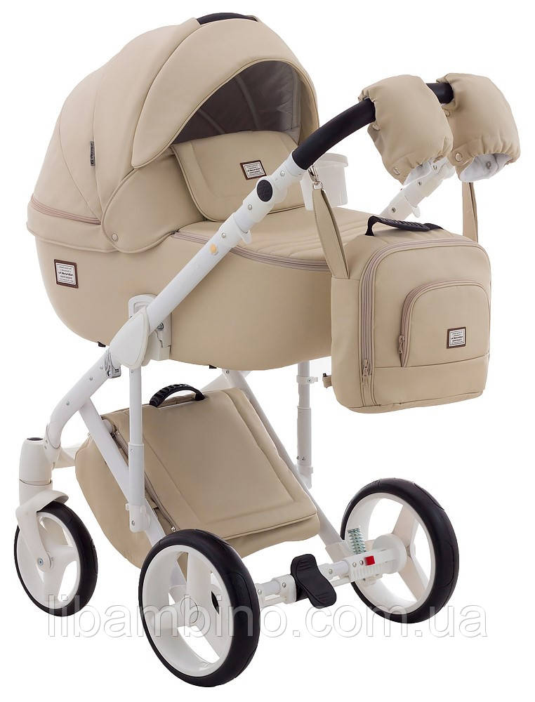Дитяча універсальна коляска 2 в 1 Adamex Luciano Deluxe 11S-B