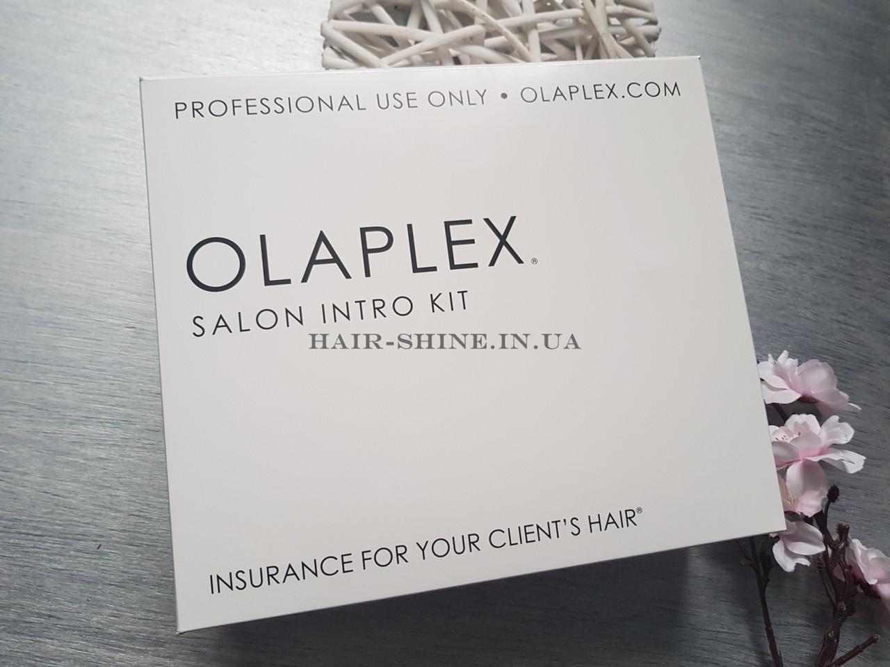 Набор для салонного ухода Olaplex Salon Intro Kit 1,2,2  (3*525ml)