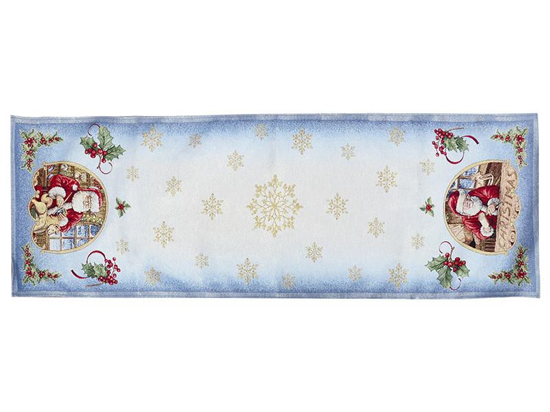 Раннер гобеленовый новогодний с люрексом 47х140 см, Lefard, 716-015