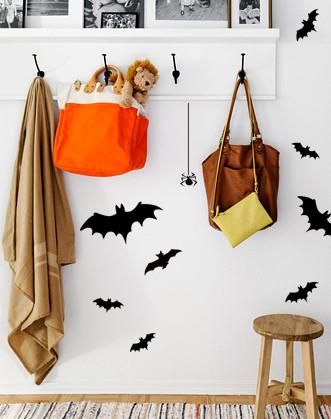"""Наклейка на вікно для Halloween """"Кажани"""""""