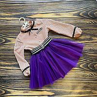 Платье с пышной фатиновой юбкой, фото 1